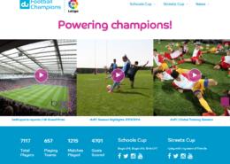 United Emirates Du Champions, Youth Soccer