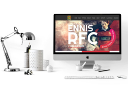 Ennis Rugby Website developed by SportLoMo