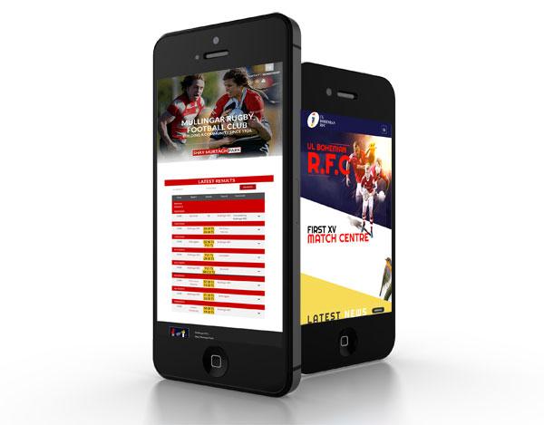 Mullingar and Ennis Rugby Websites